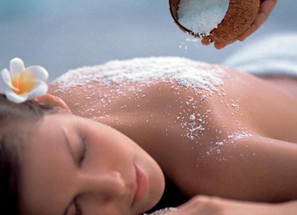 Gommage 30min + Massage 1h