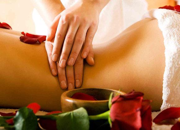 Gommage 30min + Massage 30min