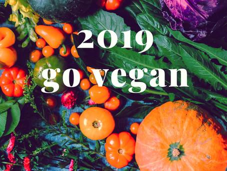 GO GREEN : Try Veganuary