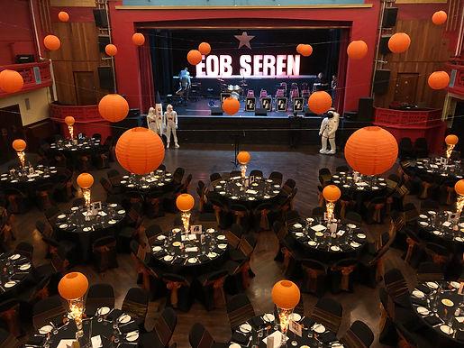 Emyr's Orange Ball - Grand Pavilion, Porthcawl