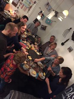 Friedas Raclette Tafel