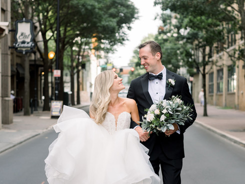 A Summer City Elopement | Charlotte NC Wedding Photographer | Ryan + Jackie