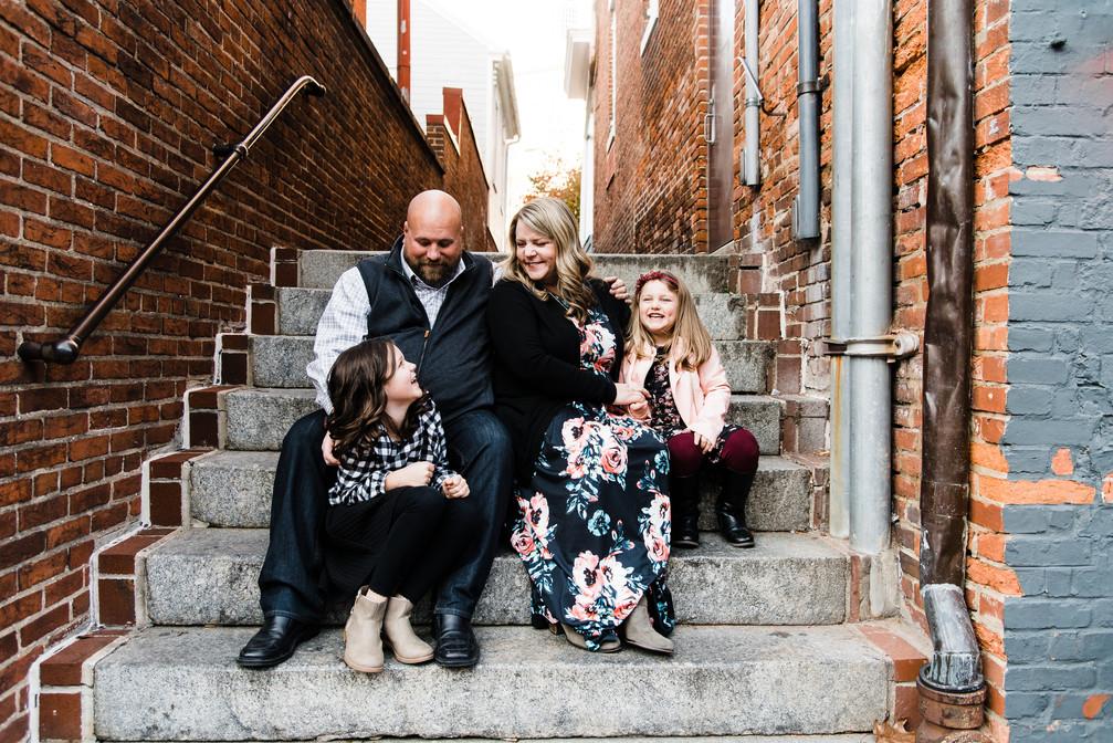 annapolis md photographer | a downtown annapolis family session | sam + alex