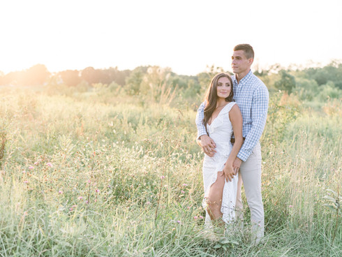A Howard County Conservancy Engagement Session | Annapolis MD Wedding Photographer | Sam + Brooke
