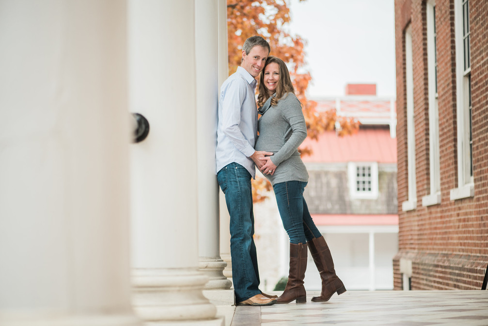 annapolis maryland photographer | a downtown annapolis maternity session | katherine + drew