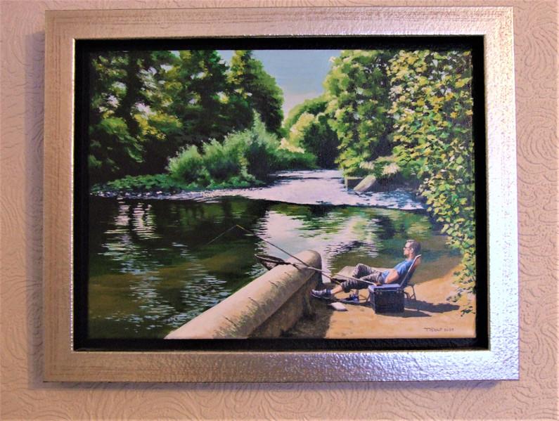 Fishing the Derwent