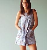 Летнее платье текстиль ателье