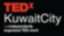 TEDxKuwaitCity Logo Stacked_w_b_stacked