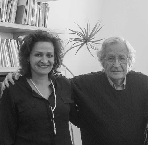 Nada AlShammari and Noam Chomsky