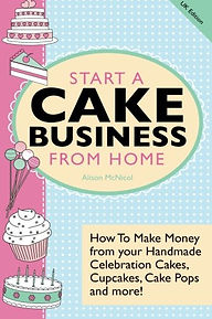start a cake business at home, cake business information, cake making books, gifts for bakers