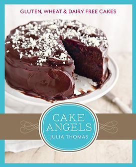 CAKE ANGELS JULIA THOMAS, GLUTEN FREE BAKING, BAKING PRESENTS
