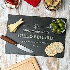 personalised cheeseboard