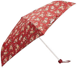 floral umbrellas, cath kidston floral umbrella, floral travel gifts, floral travel presents