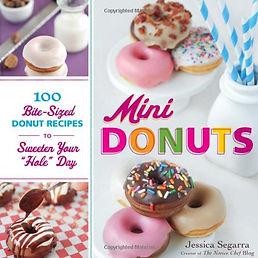 mini doughnuts, doughnut recipe books