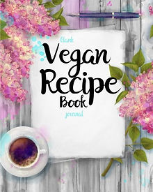 vegan recipe journal