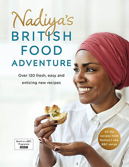 nadiya's kitchen, nadia hussain book, bake off books, baking gifts
