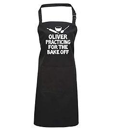 funny bake off apron