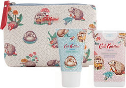 Cath Kidston Beauty Hedgehogs Cosmetic Pouch
