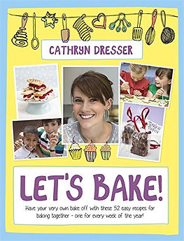 cathryn dresser let's bake, bake off books, gifts for bakers