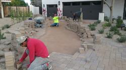 Paver Installation