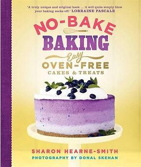 sharon hearne smith no-bake baking, no bake baking books, no bake recipe books, best no bake books, no baking recipes, recipes without the oven, baking without the oven, home baking gifts, gifts for bakers, baking presents