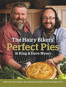 the hairy bikers perfect pies, pie recipe books, pie making books, pie accessories, gifts for pie lovers, pie boards, pie crimpers, home baking gifts, gifts for bakers, baking gifts, baking presents