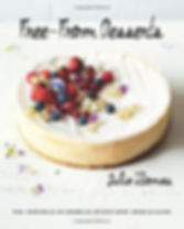 free from dessers julia thomas, dairy free dessert cookbook, wheat free recipes, gluten free recipes, home baking gifts, baking presents, allergy free cookbooks
