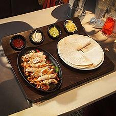 Fajita Serving Board with Sizzle Platter