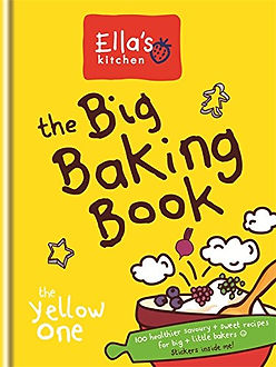 ella's kitchen the big baking book, baking gifts, baking books for kids, easy baking recipe books, baking starter books, popular baking books for children, baking presents