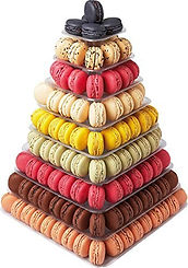 macaron tower, macaron stand, macaron gifts, macaron making ideas, home baking gifts, gifts for bakers