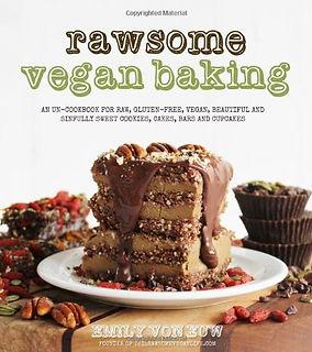 rawsom vegan baking, raw vegan recipes, vegan baking recipes, vegan cake recipes, baking gifts, baking books