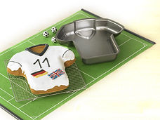 birkmann football shirt cake mould, football cake accessories, football baking accessories, football cake moulds, football cupcakes, football themed baking ideas, euro 2016 cakes, home baking gifts, gifts for bakers, baking presents