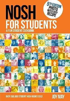 nosh for students, student cookbooks, student recipe books