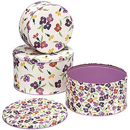 spring meadow cake tins, cooksmart floral cake tins, floral cake tins, home baking gifts, gifts for bakers