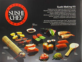 Baycliff Company Sushi Chef 3 Making Kit