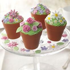 cupcake flowerpot moulds