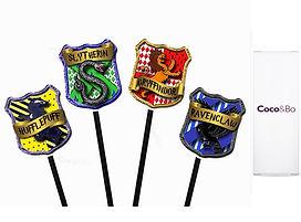 hogwarts cupcake picks
