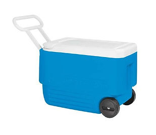 Igloo Wheelie Cool 38 qt Coolbox cooler, cool boxes, coolboxes, travel presents, travel gifts