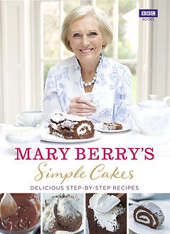 simple cakes, home baking gifts, mary berry books
