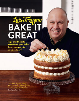 luis troyano bake it great, bake off books, baking gifts