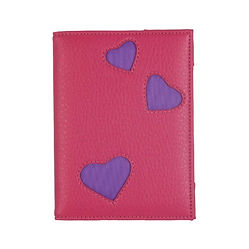 hearts passport cover, valentine's day travel gifts