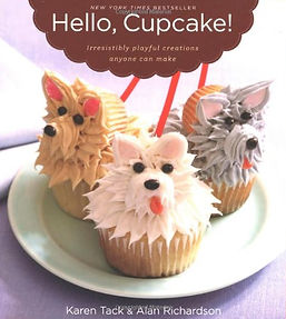 hello cupcake karen tack, cupcake books, cupcake recipes, cupcake week, home baking gifts, books for bakers