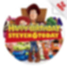 personalised toy story cake topper