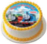 personalised thomas the tank engine cake topper