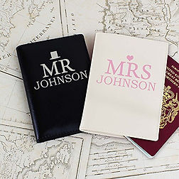 personalised passport covers, valentine's day travel gifts, travel presents, travel gifts