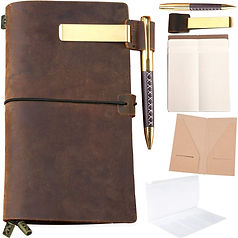 leather journal set