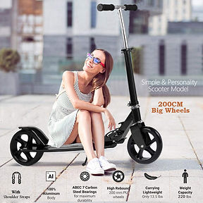 Simlive Adult Kick Scooter