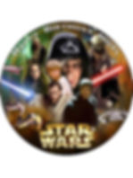 star wars cake toppers, personalised star wars cake topper, gifts for bakers, baking presents, home baking gifts