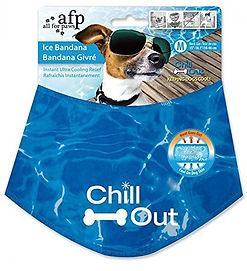 chill out dog bandana