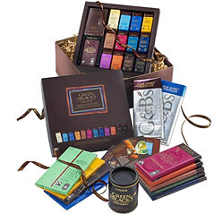Green & Black's Sharing Chocolate Hamper, chocolate hampers, chocolate gifts, chocolate presents